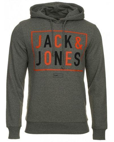 Jack & Jones Ciemno Szara Bluza Noa Grey Melange