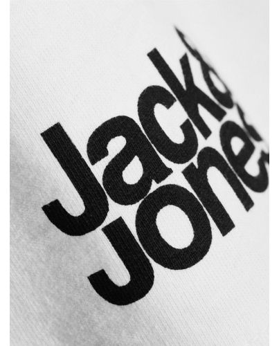 JACK & JONES BIAŁA KOSZULKA CORE